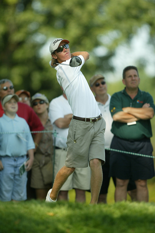 Nick Flanagan.2003 US Amateur Championship.Finals.Oakmont Country Club.Oakmont, PA.Saturday, August 23, 2003.photograph by Darren Carroll