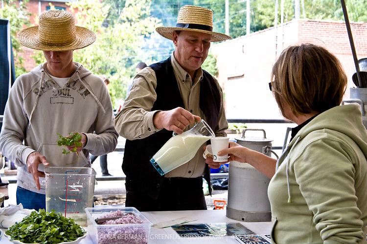 Raw milk activist, farmer Michael Schmidt.