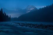 Blue Morning, Jasper, Alberta