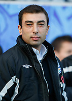 Photo: Steve Bond/Richard Lane Photography. Leicester City v West Bromwich Albion. Coca Cola Championship. 07/11/2009. Roberto Di Matteo watches
