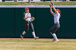 NORMAL, IL - April 06: Alyssa Wiebel during a college women's softball game between the ISU Redbirds and the University of Northern Iowa Panthers on April 06 2019 at Marian Kneer Field in Normal, IL. (Photo by Alan Look)