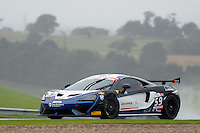 Ciaran Haggerty (GBR) / Sandy Mitchell (GBR)  #59 Black Bull Ecurie Ecosse  McLaren 570S GT4  McLaren 3.8L Turbo V8. British GT Championship at Donington Park, Melbourne, Leicestershire, United Kingdom. September 10 2016. World Copyright Peter Taylor/PSP.