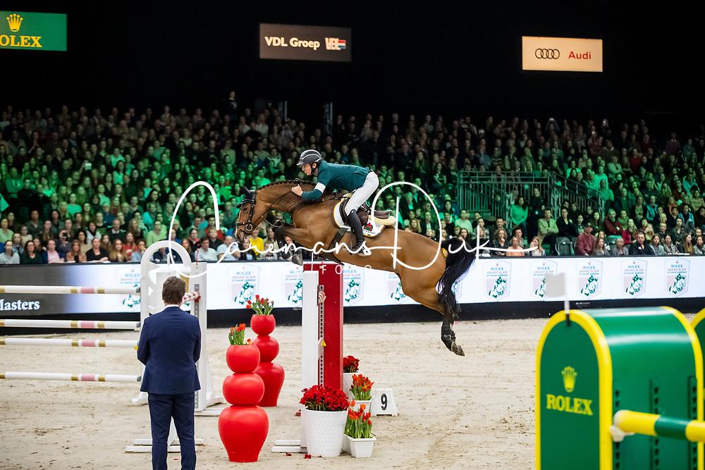 Guerdat Steve, SUI, Alamo<br /> Rolex Grand Slam of Showjumping<br /> The Dutch Masters - 'S Hertogenbosch 2019<br /> © Hippo Foto - Sharon Vandeput<br /> <br />  17/03/2019