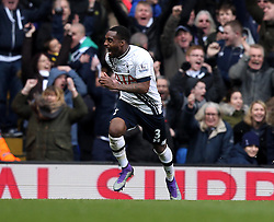 Danny Rose of Tottenham Hotspur celebrates scoring his sides second goal - Mandatory byline: Robbie Stephenson/JMP - 28/02/2016 - FOOTBALL - White Hart Lane - Tottenham, England - Tottenham Hotspur v Swansea City - Barclays Premier League