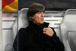 November 15, 2018 - Leipzig, Germany - Germany head coach Joachim Loew looks on during the international friendly match between Germany and Russia on November 15, 2018 at Red Bull Arena in Leipzig, Germany. (Credit Image: © Mike Kireev/NurPhoto via ZUMA Press)