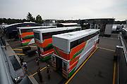 September 3-5, 2015 - Italian Grand Prix at Monza: Force India haulers