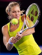 Maria Kirilenko (RUS)<br /> 2010 Australian Open Tennis<br /> Womens Singles<br /> First Round<br /> 18/01/10<br /> &quot;Rod Laver Arena&quot; Melbourne Park, Melbourne, Victoria, Australia<br /> Photo By Lucas Wroe