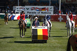 Team Belgium, Knops Simon, Philippaerts Olivier, Guery Jerome, Wathelet Gregory <br /> BMO Nations Cup<br /> Spruce Meadows Masters - Calgary 2015<br /> © Hippo Foto - Dirk Caremans<br /> 12/09/15