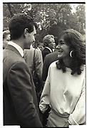 GHISLAINE MAXWELL, Arc de triomphe, Longchamp, Paris. 1986