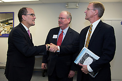 U.S. Department of Labor secretary Thomas Perez made a visit to Louisville, Wednesday, Nov. 20, 2013. <br />
