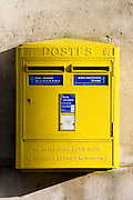 Wall Mounted Post-Box, Paris, France