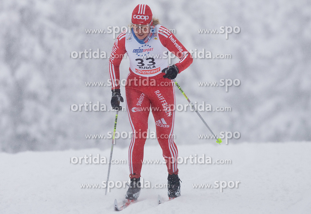 Seraina Mischol of Switzerland at Ladies 1.4 km Free Sprint Competition of Viessmann Cross Country FIS World Cup Rogla 2009, on December 19, 2009, in Rogla, Slovenia. (Photo by Vid Ponikvar / Sportida)
