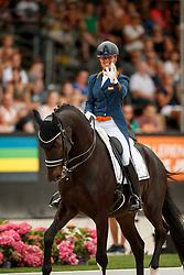 Cornelissen Adelinde, NED, Aqiedo<br /> Nederlands Kampioenschap Dressuur <br /> Ermelo 2018<br /> © Hippo Foto - Dirk Caremans<br /> 29/07/2018