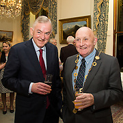 22.11.2016                   <br /> University of Limerick (UL) hosted a gala concert celebrating the music of renowned composer Mícheál Ó Súilleabháin.<br /> <br /> Pictured at a special reception before the concert were, Prof. Don Barry, President UL and Mayor of Limerick City and County, Cllr. Kieran O'Hanlon.<br /> <br /> <br /> The RTÉ Concert Orchestra, conducted by David Brophy, performed with Mícheál and a selection of special guests in University Concert Hall Limerick. Picture: Alan Place