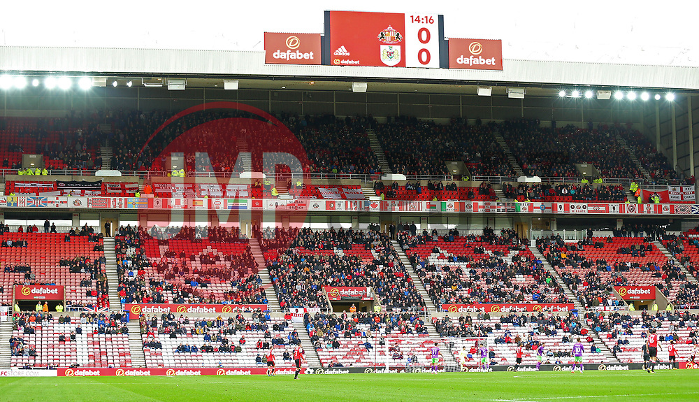 Bristol City fans at Sunderland - Mandatory by-line: Robbie Stephenson/JMP - 28/10/2017 - FOOTBALL - Stadium of Light - Sunderland, England - Sunderland v Bristol City - Sky Bet Championship