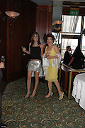 Tara Palmer-tompkinson and Cleo Rocos, Telegraph magazine 40th anniversary, Windows, London Hilton. 6 September 2004. SUPPLIED FOR ONE-TIME USE ONLY-DO NOT ARCHIVE. © Copyright Photograph by Dafydd Jones 66 Stockwell Park Rd. London SW9 0DA Tel 020 7733 0108 www.dafjones.com