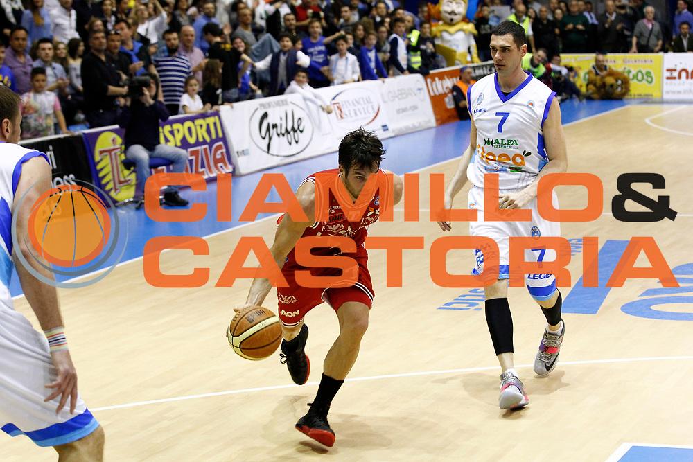 DESCRIZIONE : Capo dOrlando Lega A 2014-15 Orlandina Basket Olimpia Emporio Armani EA7 Milano<br /> GIOCATORE : Bruno Cerella<br /> CATEGORIA : Palleggio Penetrazione<br /> SQUADRA : Orlandina Basket EA7 Emporio Armani Olimpia Milano<br /> EVENTO : Campionato Lega A 2014-2015 <br /> GARA : Orlandina Basket EA7 Emporio Armani Olimpia Milano<br /> DATA : 19/04/2015<br /> SPORT : Pallacanestro <br /> AUTORE : Agenzia Ciamillo-Castoria/G.Pappalardo<br /> Galleria : Lega Basket A 2014-2015<br /> Fotonotizia : Capo dOrlando Lega A 2014-15 Orlandina Basket EA7 Emporio Armani Olimpia Milano