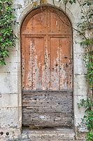 Doorway in St. Paul-de-Vence, France