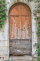 Doorway in St. Paul-de-Vence, France