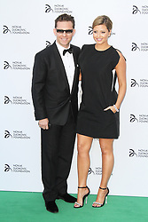 © Licensed to London News Pictures. Nick Candy and Holly Valance at the Novak Djokovic Foundation London gala dinner, The Roundhouse, London UK, 08 July 2013. Photo credit: Richard Goldschmidt/LNP