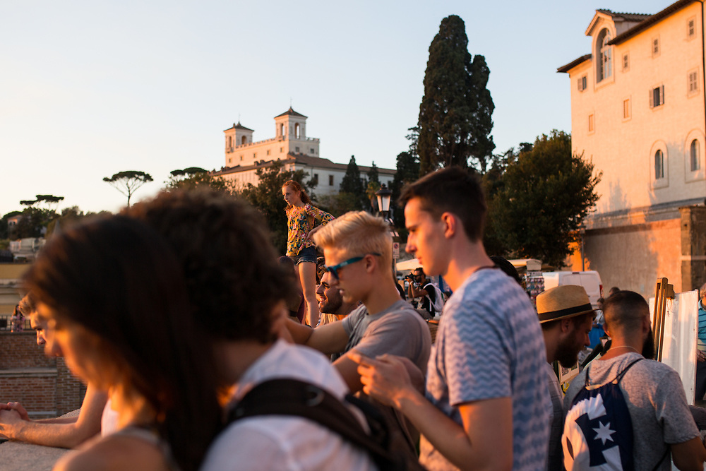 08.23.17 - Rome, Italy - Eunice and Will visit Rome with Nelson and Tom for a summer vacation to Italy. We saw the Roman Forum and the Vatican City.