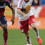 Eric Alexander, New York Red Bulls, in action during the New York Red Bulls Vs Chicago Fire, Major League Soccer regular season match at Red Bull Arena, Harrison, New Jersey. USA. 10th May 2014. Photo Tim Clayton