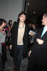PETE DOHERTY at the opening party for 'Face of Fashion' an exhibition of photographs by five of the World's leading fashion photographers held at the National Portrait Gallery, St.Martin's Lane, London on 12th February 2007.<br />