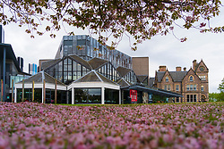 Exterior of the Eden Court Theatre in Inverness on the North Coast 500 scenic driving route in northern Scotland, UK