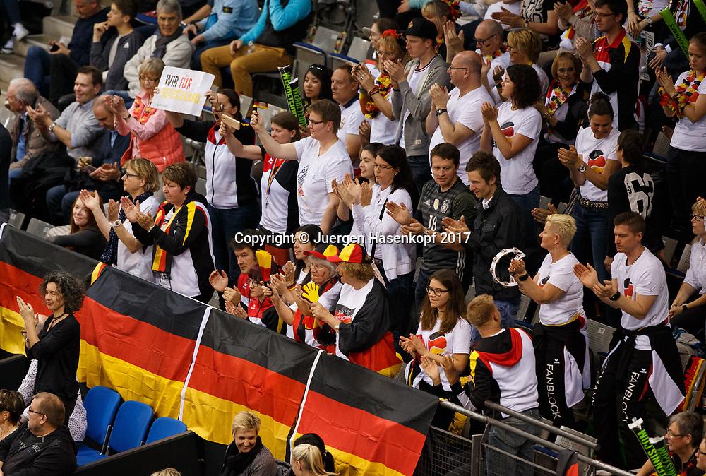 Fed Cup GER-UKR, Deutschland - Ukraine, <br /> Eroeffnungs Zeremonie,