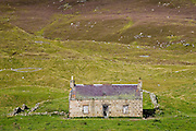Derelict cottage in Glen Clunie, Scotland