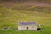 Derelict cottage in Glen Clunie, Scotland