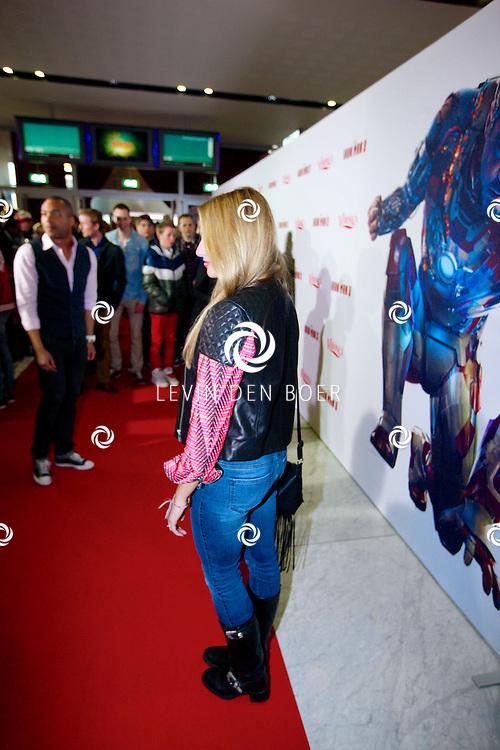 AMSTERDAM - In het Rai theater is de filmpremiere van Iron Man 3. Met op de foto  Gaby Blaaser. FOTO LEVIN DEN BOER - PERSFOTO.NU