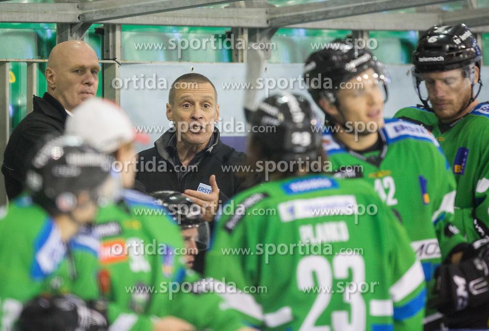 Bojan Zajc, Fabian Dahlem, head coach (HDD Olimpija)