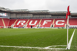 A general view of the Aesseal New York Stadium, home of Rotherham United - Mandatory by-line: Ryan Crockett/JMP - 03/02/2018 - FOOTBALL - Aesseal New York Stadium - Rotherham, England - Rotherham United v AFC Wimbledon - Sky Bet League One