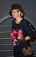 Amsterdam  16-03-2016<br /> <br /> Queen Maxima opened Outsider Art exhibition at Hermitage Museum an exhibition with artwork made by people without art education<br /> <br /> <br /> <br /> Copyright: Royalportraits Europe/Bernard Ruebsamen