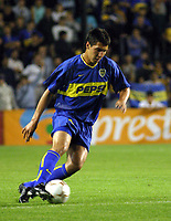 Fotball<br />22/10/03 - BOCA JUNIORS FROM ARGENTINA (0) VS. ATLETICO NACIONAL FROM COLOMBIA (1) - SOUTH AMERICAN CUP - Buenos Aires - Argentina.<br />FABBRO (Boca JUniors)<br />Foto: Digitalsport
