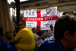 Leicester City fans take over O'Neils Irish bar in Seville before the game - Rogan Thomson/JMP - 22/02/2017 - FOOTBALL - Estadio Ramon Sanchez Pizjuan - Seville, Spain - Sevilla FC v Leicester City - UEFA Champions League Round of 16, 1st Leg.