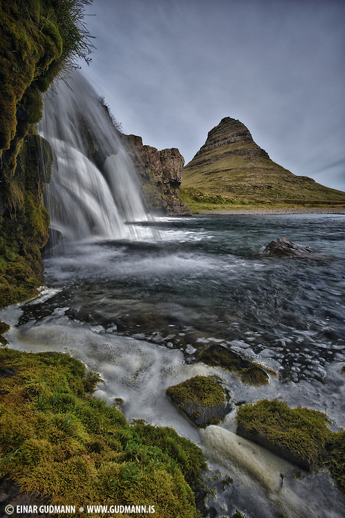 Taken in west-Iceland at Kirkjufell in Grundarfjörður.