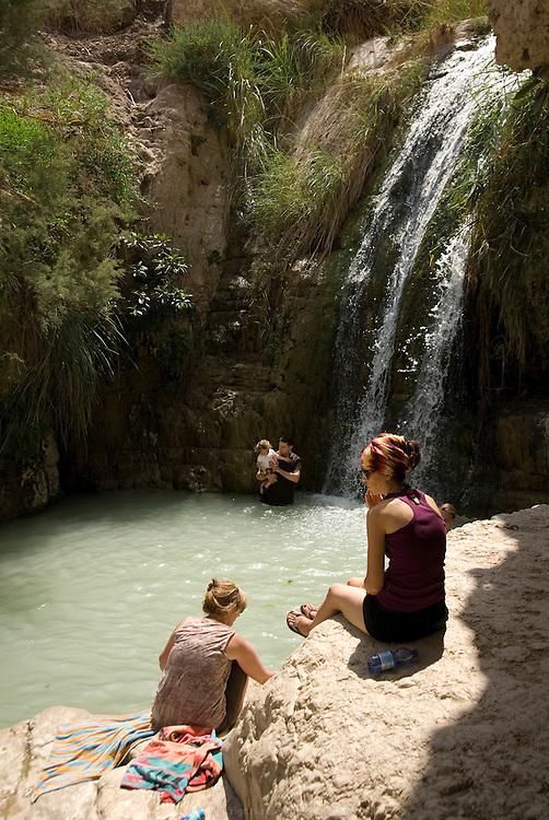La réserve naturelle d'Ein Gedi, au bord de la Mer Morte, est l'une des destinations phare en Israël.
