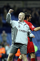 Photo: Mark Stephenson/Sportsbeat Images.<br /> West Bromwich Albion v Coventry City. Coca Cola Championship. 04/12/2007.Coventry's manager Ian Dowie celebrates there win