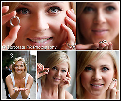 Model Sarah Mc Govern is pictured launching beauty company Avon's empowerment ring. This year's ring features the infinity symbol representing a future of infinite possibility for women and is launched to mark International Women's Day (March 8th). Profits from sales of the ring will go to Woman's Aid for the second year to support women facing violence in the home. Pic Andres Poveda CPR