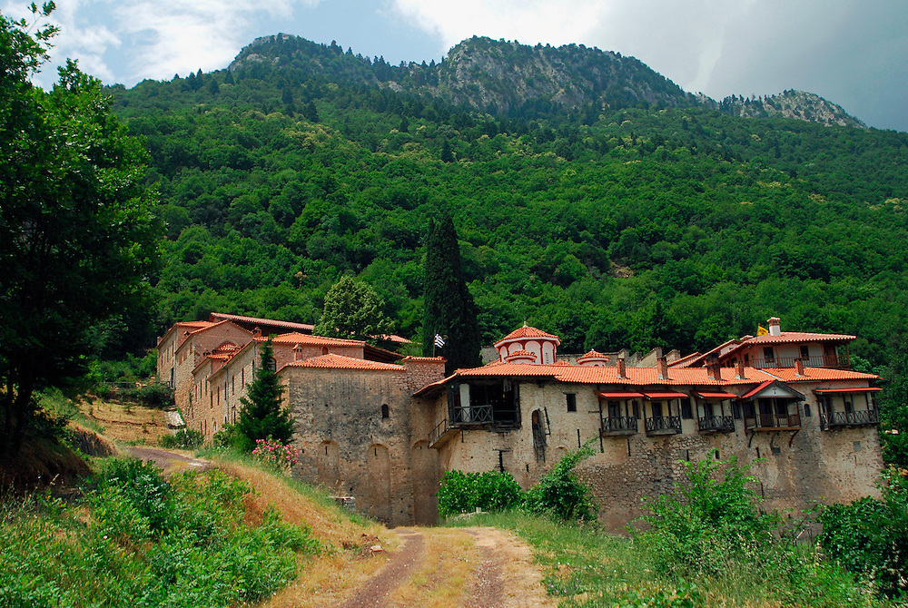 Dousikou monastery, Pyli, Aspropotamos, Trikala Prefecture, Thessaly region, central Greece.