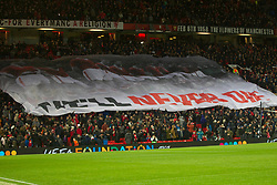 General view as Manchester United remember the Flowers of Manchester before the match - Mandatory by-line: Jack Phillips/JMP - 07/11/2019 - FOOTBALL - Old Trafford - Manchester, England - Manchester United v Partizan - UEFA Europa League