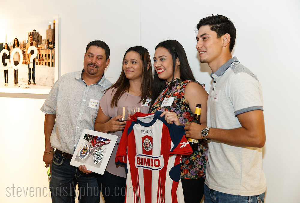 June 29, 2016: OKC Energy FC holds a Chivas VIP event at 21C Museum Hotel in Oklahoma City, Oklahoma.