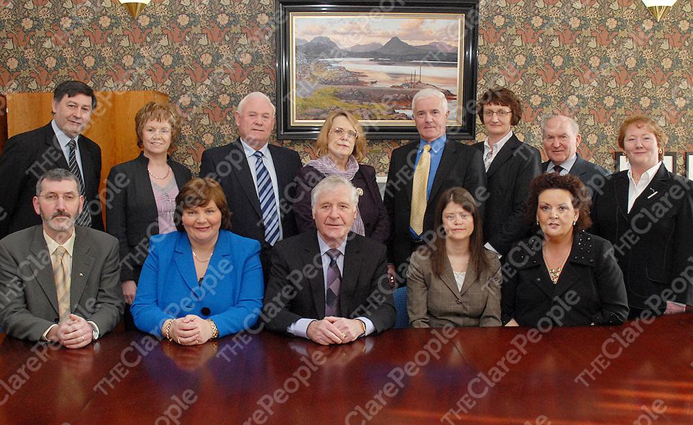 Board members of the Western Development Commission.