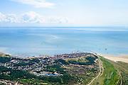 Nederland, Friesland, Terschelling, 05-08-2014;  West-Terschelling, overzicht. Waddenzee in de achtergrond.<br /> Wadden island Terschelling.<br /> luchtfoto (toeslag op standard tarieven);<br /> aerial photo (additional fee required);<br /> copyright foto/photo Siebe Swart