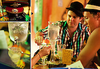 Editorial Travel Photography: young adults enjoying home made Absynth in Antibes, French Riviera, Cote d'azur, France