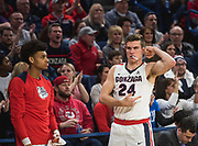 Gonzaga men lose close game to Saint Mary's, 74-71, on Jan. 18.  (GU photo)