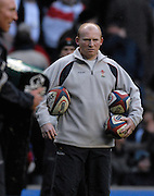 Twickenham, GREAT BRITAIN, Wales Skills Coach Neil JENKINS, before the 2008 Six Nations Rugby Championship, England vs Wales at the RFU Stadium. 02.02.2008. [Mandatory Credit Peter Spurrier/Intersport Images]
