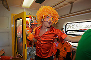 Dutch supporters at the world cup soccer in South Africa<br /> Oranjesupporters in Zuid-Afrika